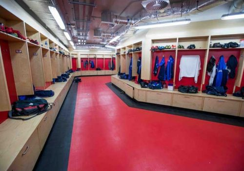 Senior Squad Dressing Room